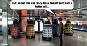 Daleks throw the best parties