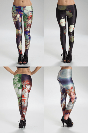 Great Geeky Leggings on the Cheap!