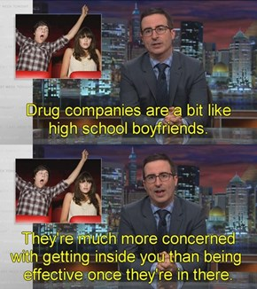 High School Boyfriends and Pharmaceuticals