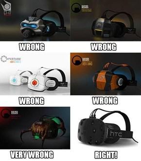 Valve's Secret SteamVR Headset