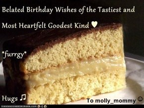 To molly_mommy ☺