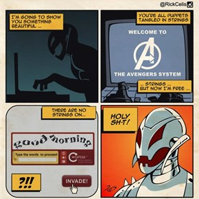 Ultron's Only Weakness