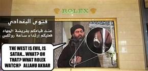 ISIS leader Rolex...