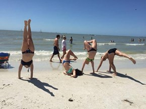 The Handstand Contest Had No Winner, but We Know Who Lost