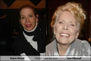 Diane Rovell Totally Looks Like Joni Mitchell