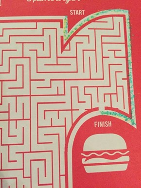 Some Kids Just Know How to Tackle a Maze