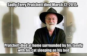 Terry Pratchett - Discworld Author