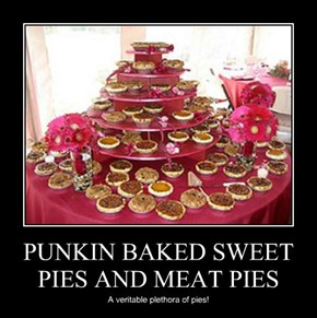PUNKIN BAKED SWEET PIES AND MEAT PIES