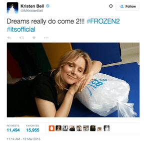 Disney's Not Ready to Let It Go; Frozen 2 Has Been Officially Announced