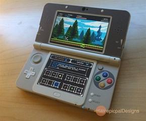 New 3DS + SNES Decal = Amazing