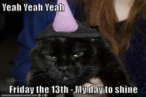 Yeah Yeah Yeah  Friday the 13th - My day to shine