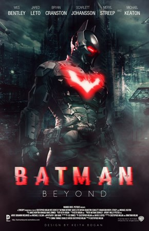 Awesome Batman Beyond Fan Made Poster
