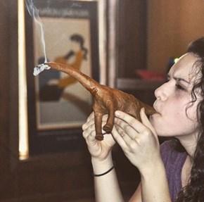 Smoking a Bluntasaurus
