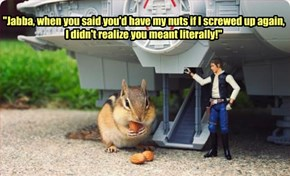 Han's Almonds Are Squirrelly