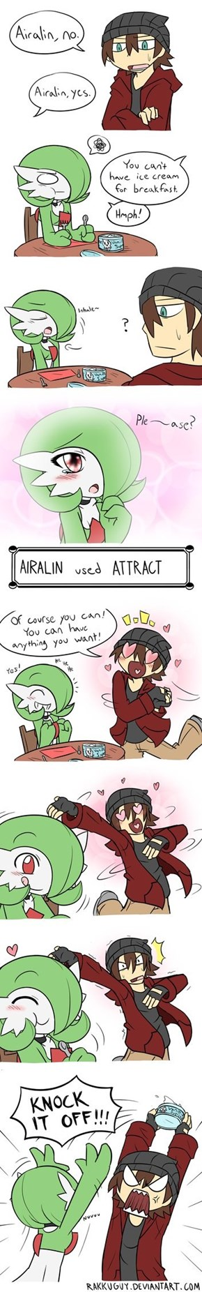 Arialin the Most Kawaii Gardevoir