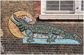 A Street Mosaic by Artyface