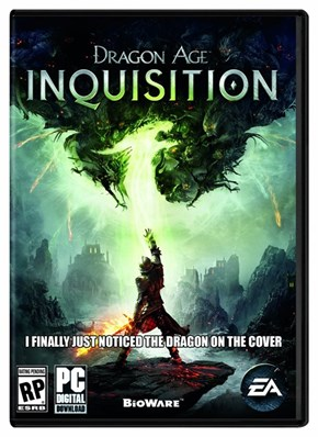 BTW, There is a Dragon on the Cover of Dragon Age Inquisition