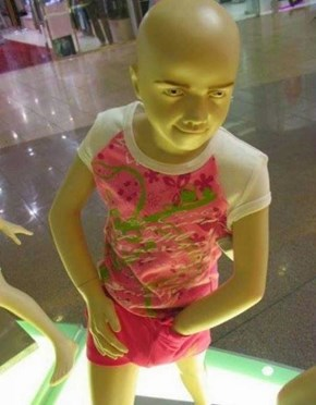 And Here I Thought They Taught Those Mannequins Some Manners...