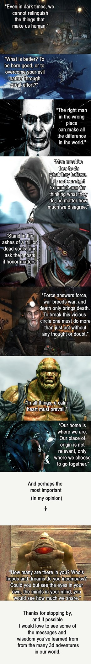 Wisdom From Games