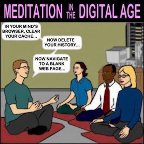 Meditation in The Digital Age