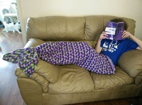 If You Have the Knitting Skills, You too Can Experience That Mermaid Life