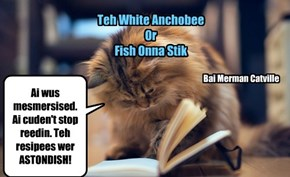 Teh White Anchobee Or Fish Onna Stik