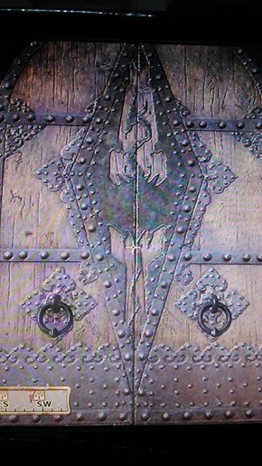 There's Something About This Door in Oblivion...