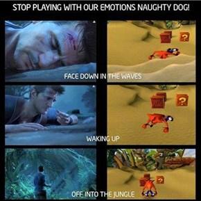 A Naughty Dog Homage