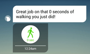 Running Apps Can Be Really Passive-Aggressive Sometimes