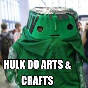HULK IS ARTSY