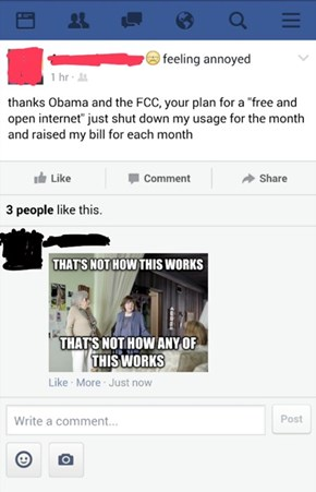 Jerk Cable Companies: Thanks Obama