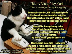 """Blurry Vision"" by Yurii  (TTO ""Double Vision"" by Foreigner)"