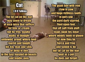 """Cat"" by J.R.R. Tolkien"