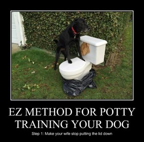 EZ METHOD FOR POTTY TRAINING YOUR DOG