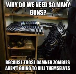 Why we need so many guns