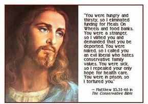 Republican Jesus...