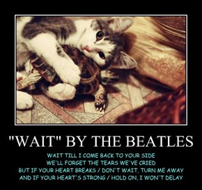 """WAIT"" BY THE BEATLES"