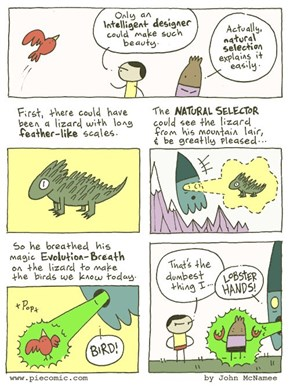 This Comic Explains Why Natural Selection is Irrefutable