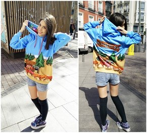 This Girl Made An Awesome Hoodie of Her Favorite Arcade Game: Sunset Riders