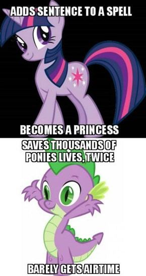 Because Spike Is The Worst
