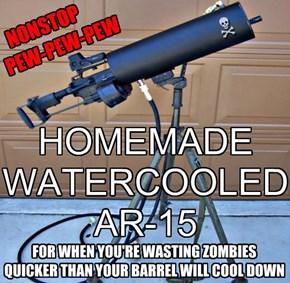 HOMEMADE WATERCOOLED AR-15
