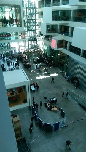 People Giving Blood to Receive a Free Copy of Bloodborne at IT University of Copenhagen