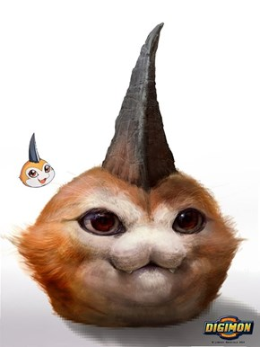 Digifriday: Realistic Tsunomon Legit Just Looks Like a Decapitated Creature