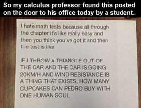 Trolling Math Teachers