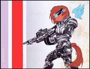 My Little Commander Shepard