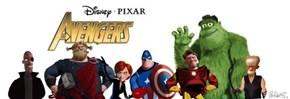Pixar's Avengers