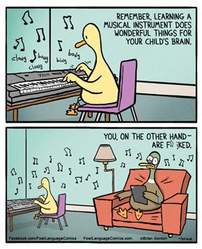 Music is a Curse