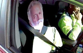 Fail of the Day: Guy Busted for Using 'Most Interesting Man in the World' to Drive in HOV Lane