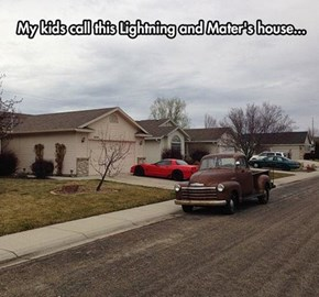 How a Kid Sees an Ordinary Home