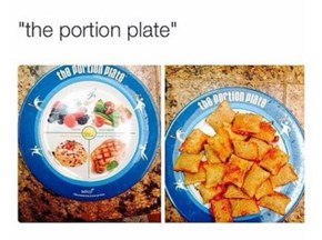 Pffft, Portion Plate? F**k Outta Here, Man...